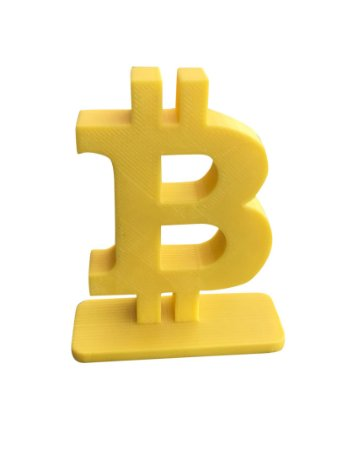 Bitcoin Stand-up - Amarelo