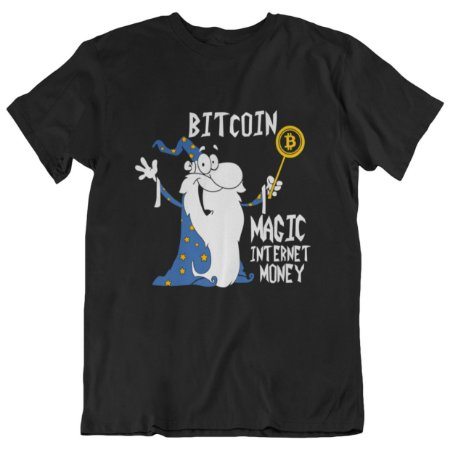 Camiseta Magic Internet Money - Preta