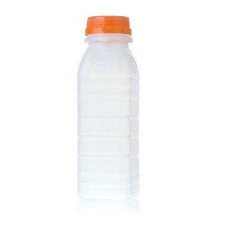 Garrafa plástica com tampa 200ml | Fardo com 100 unidades