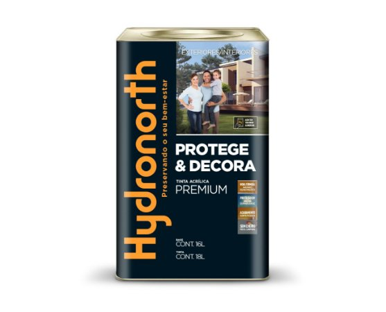 Tinta Acrílica Premium Fosco 18 L Hydronorth
