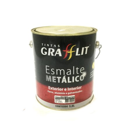 Esmalte Sintético Metálico 3,6 L Grafflit