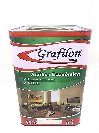 Acrílico Econômico Fosco 18 L Grafilon