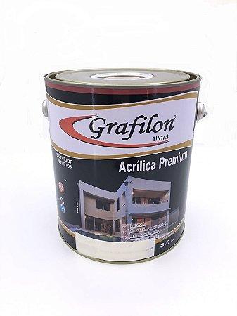 Tinta Acrílica Premium Fosco 3,6 L Grafilon