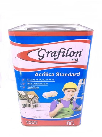 Tinta Acrílica Standard Fosco 18 L Grafilon