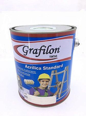 Tinta Acrílica Standard Fosco 3,6 L Grafilon