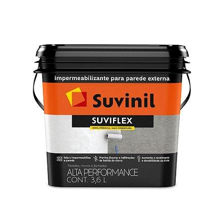 Suviflex Impermeabilizante Flexível e Elástico Para Paredes Branco 3,6 L Suvinil