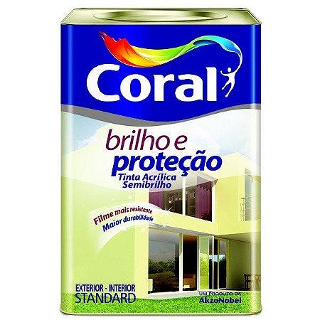 Tinta Acrílico Brilho & Proteção Standard Semi Brilho 18 L Coral