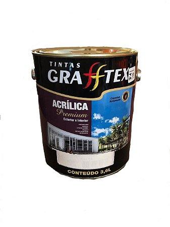 Tinta Acrílica Premium Fosco 3,6 L Grafftex