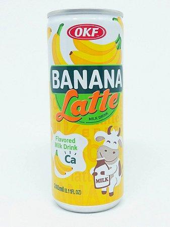 Latte - sabor banana