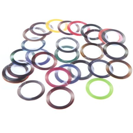 Fitinhas adesivas metalicas de decoração - 1mm ou 3mm