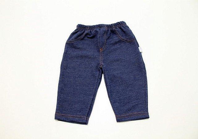 calça modelo jeans em algodão unissex