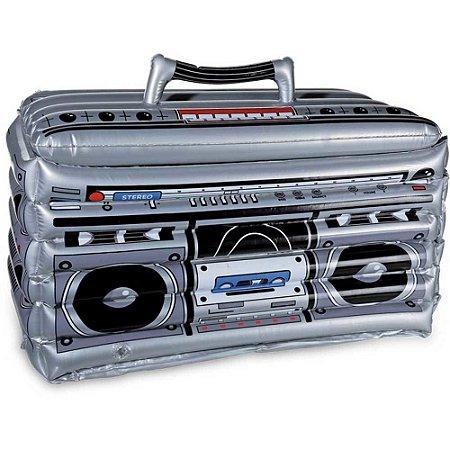 Cooler Inflável Radio Divertido para Piscina
