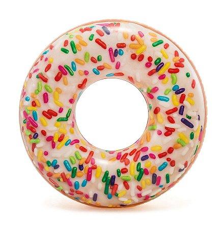 Boia de Donut Rosquinha Gigante Granulado 114 cm