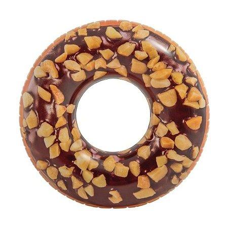 Boia de Donut Rosquinha Gigante Chocolate 114 cm