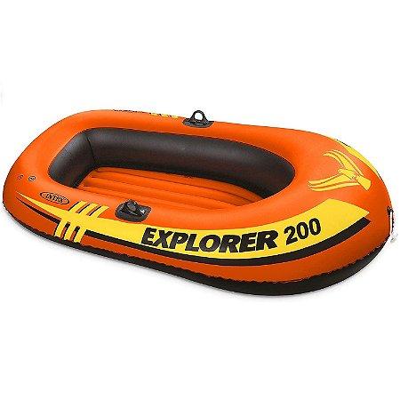 Bote Inflável Explorer 200 Intex 185 cm
