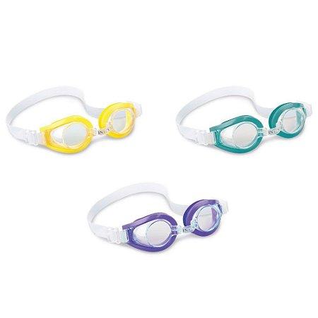 Óculos Ajustável Natação Mergulho Infantil Intex