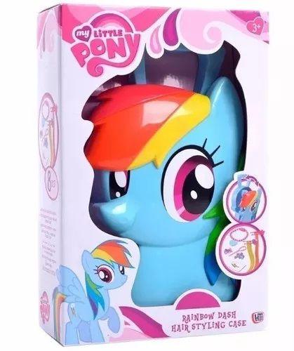My Little Pony Maleta Rainbow Dash Estilista Multikids Br377