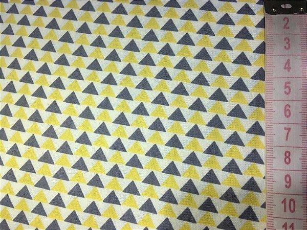 Tecido Triângulos