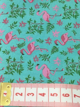 Tecido Flamingos - cor 1550