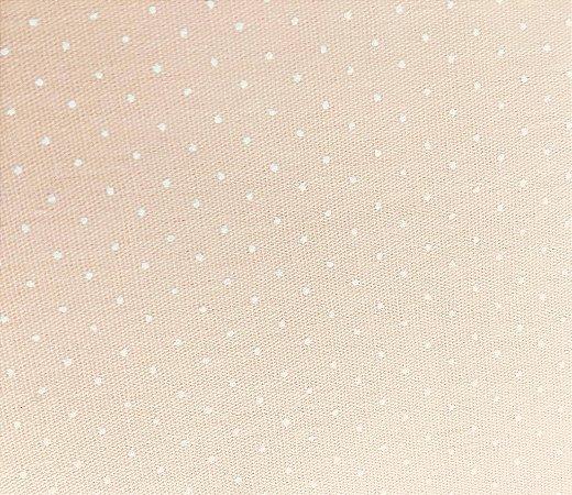 Tecido Poá Pêssego - cor 1621