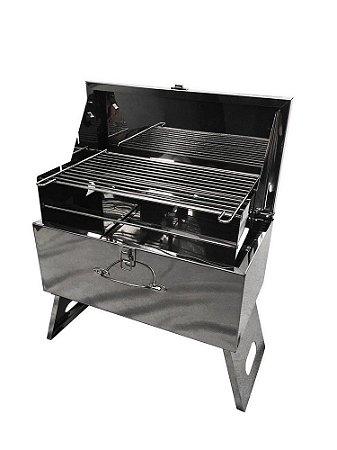 BOX BBQ - CHURRASQUEIRA PORTÁTIL
