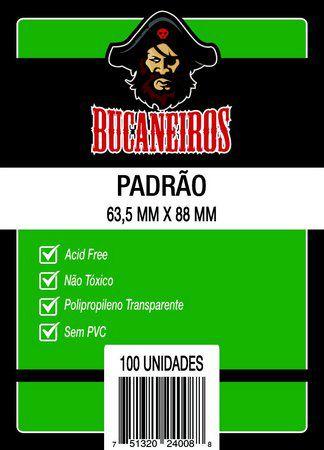 SLEEVE PADRÃO - (63,5x88) - Bucaneiros