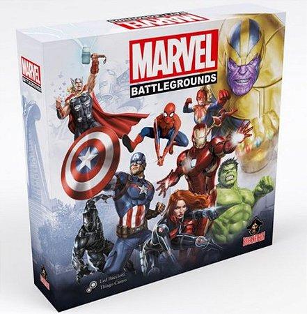Pré-Venda - KIT Marvel Battlegrounds (COM INSERT)
