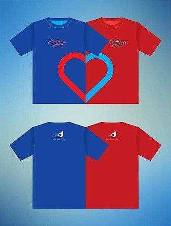 Camisa União de Coração