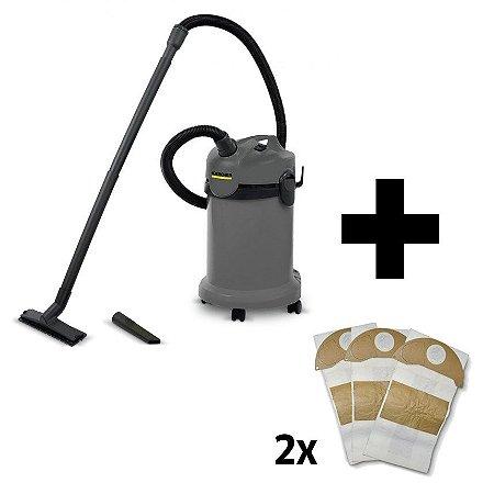 Combo Aspirador NT 20/1 + 2 Kits de Filtros (3 unid. cada)