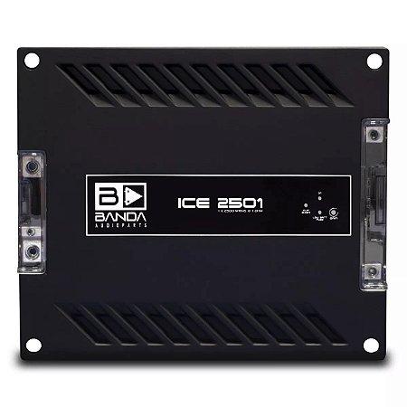 Módulo Amplificador Banda Ice 2501 2500W RMS 1 Canal 1 Ohm