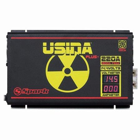Fonte Spark Usina 220 Amperes Bivolt 14,4v Smart Plus + Volt + Amp