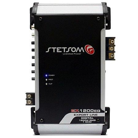 Modulo Amplificador Stetsom Ex1200 Eq 1200w Rms 1 Ohm