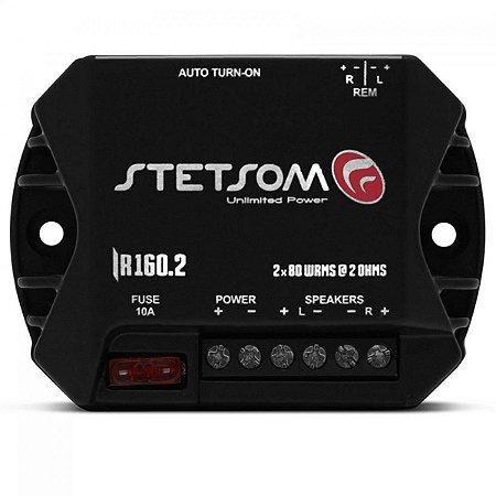 Módulo Amplificador Stetsom Iron Line IR160.2 160W RMS 2 Canais 2 Ohms
