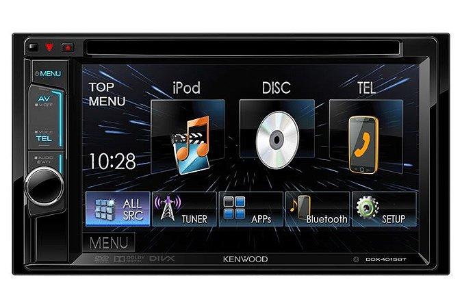 Receptor de DVD com Monitor Kenwood DDX4015BT