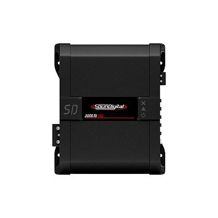Modulo Potencia Soundigital Sd2000.1d 1 OHMS 2000w Rms