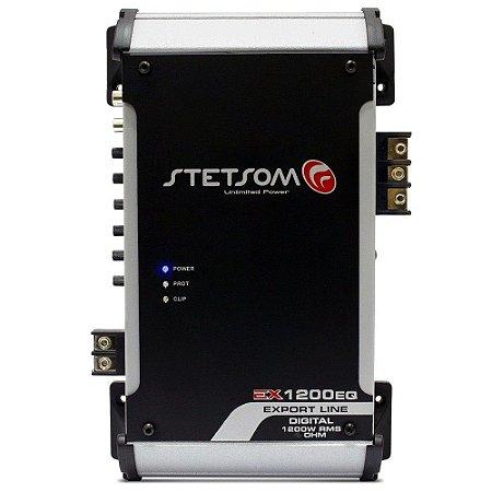 Modulo Amplificador Stetsom Ex1200 Eq 1200w Rms 2 Ohm