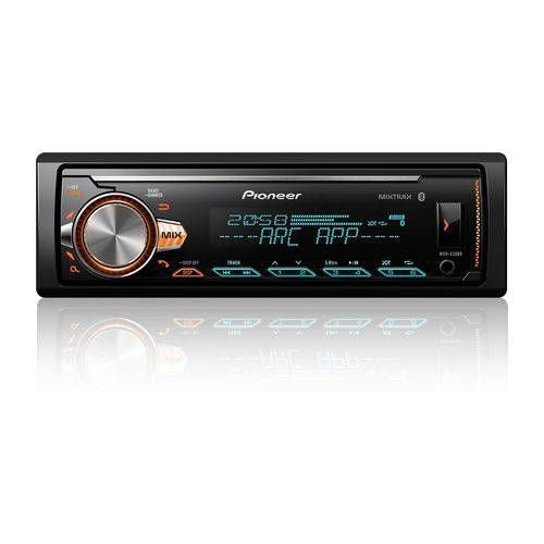 Mp3 Player Pioneer Bluetooth Usb Aux Mixtrax Mvh-x300br