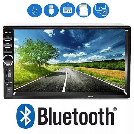 Central Multimídia Mp5 Com Espelhamento Bluetooth Usb Sd