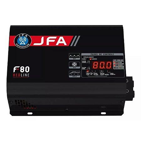 Fonte Carregador Automotivo Jfa 80a 80 Amperes Sci Red Line