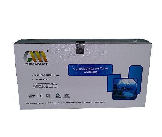 TONER COMPATÍVEL BROTHER TN2340 / 2370 / 2740 / 630 / 660 2.6K CHINAMATE
