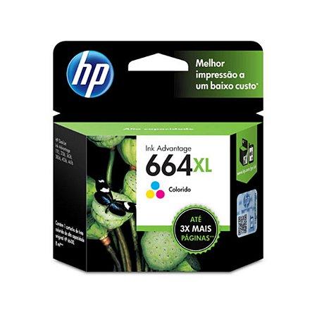CARTUCHO HP 664 XL TRICOLOR