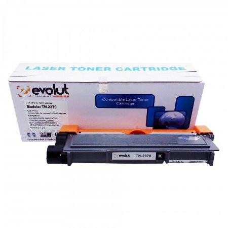 TONER COMPATÍVEL BROTHER TN-2340 / 2370 / 2740 / 630 / 660 / 2.6K EVOLUT