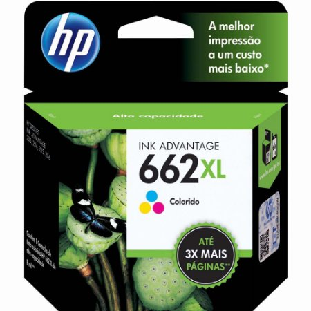 CARTUCHO HP 662 XL TRICOLOR