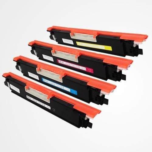 KIT 4 TONERS COMPATÍVEIS HP CE310/CF350, CE311/CF351, CE312/CF352 e CE313/CF353 CHINAMATE