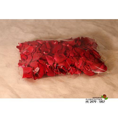 Pacote pétalas de rosas