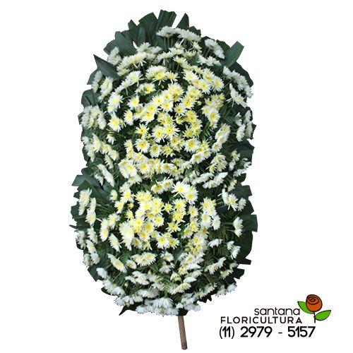 Coroa de flores para Velório 3