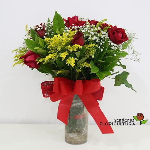 Buquê com Rosas Admiração