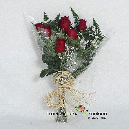 Elegance 6 Rosas