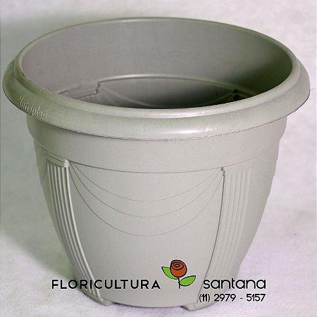 Vaso de Polipropileno Cinza - N03 - 40x30cm