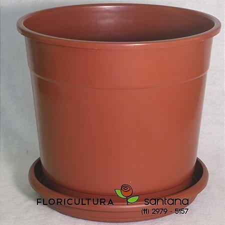Vaso de Polipropileno Marrom - N9 - 57x42cm